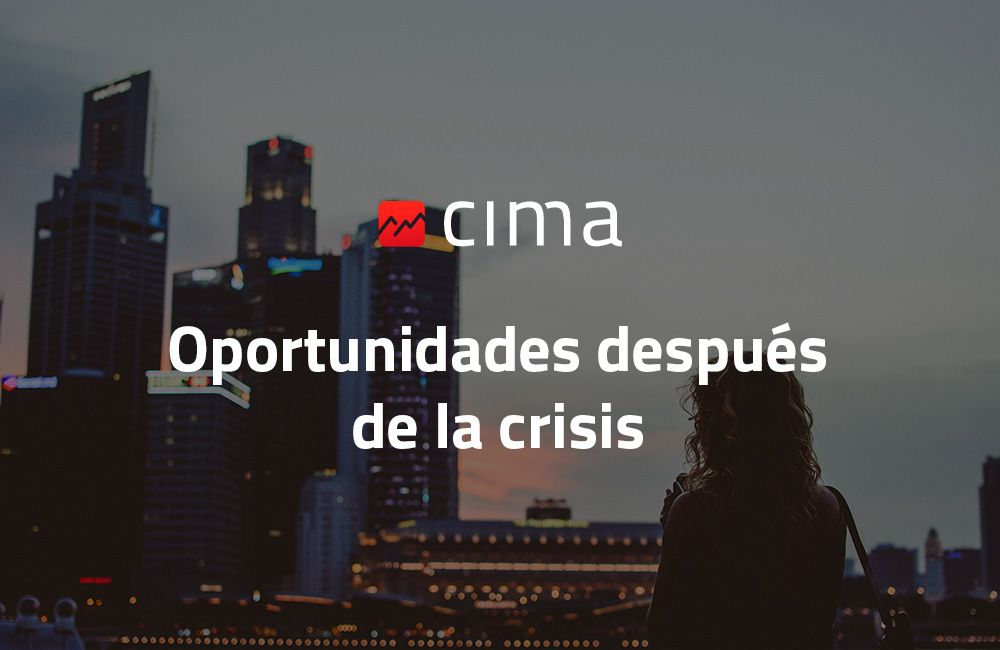 Oportunidades después de la crisis